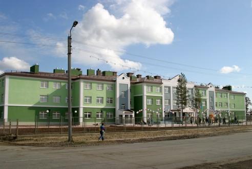 МОУ СОШ м-на Вынгапуровский, г. Ноябрьск - фото
