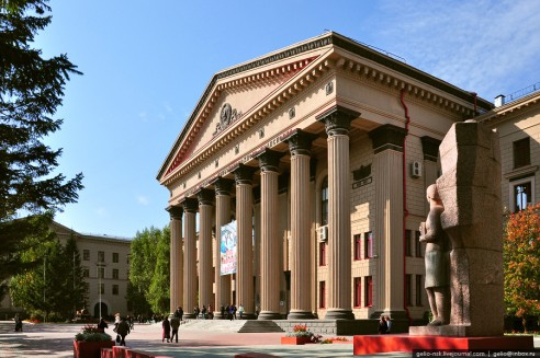 Сибирский государственный университет путей сообщения - фото